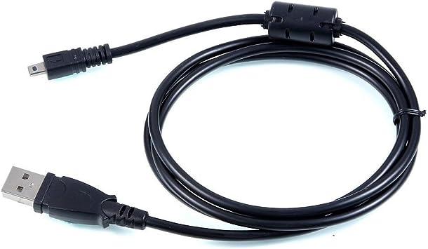 LETO USB 2.0 PC Data Cable For Sanyo CAMERA Xacti VPC-S1275//p//u//ex//gx//px//tp