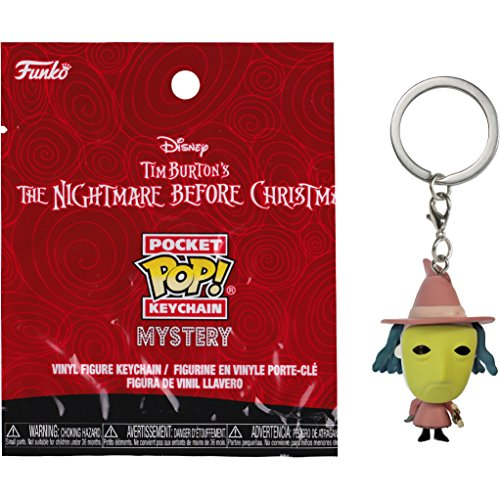 Shock: The Nightmare Before Christmas x Funko Mystery Pocket POP! Mini-Figural Keychain [24316]