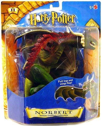 (HARRY POTTER Deluxe Creature Norbert Dragon Action Figure (2002 Mattel))