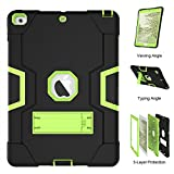 Spritech iPad Mini 4 Case, [Rugged Kickstand Series]-3 in 1 Shockproof Heavy Duty