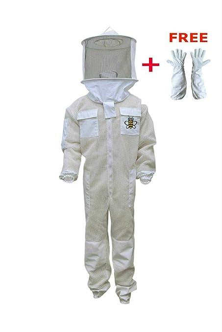 Amazon.com: Profesional abeja Unisex, color blanco tela de ...