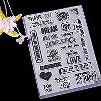 Fower YY Creativo DIY sello de silicona personalidad
