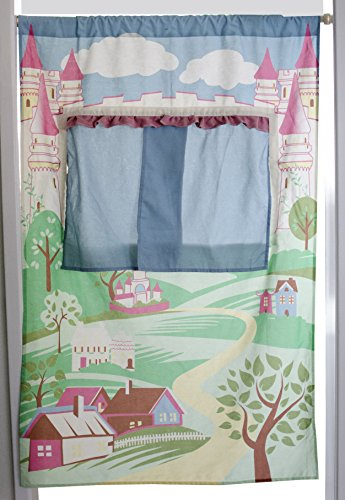 (Asweets Doorway Castle Puppet Theatre Toy)