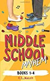 Middle School Mayhem: Books 1-4