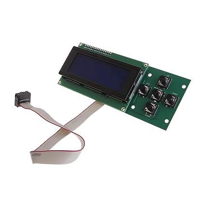 Yyooo - Pantalla LCD de control de impresión 3D, pantalla LCD de ...
