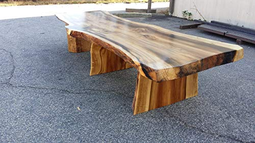 Thick Rainbow Poplar Live Edge Slab Dining or Conference