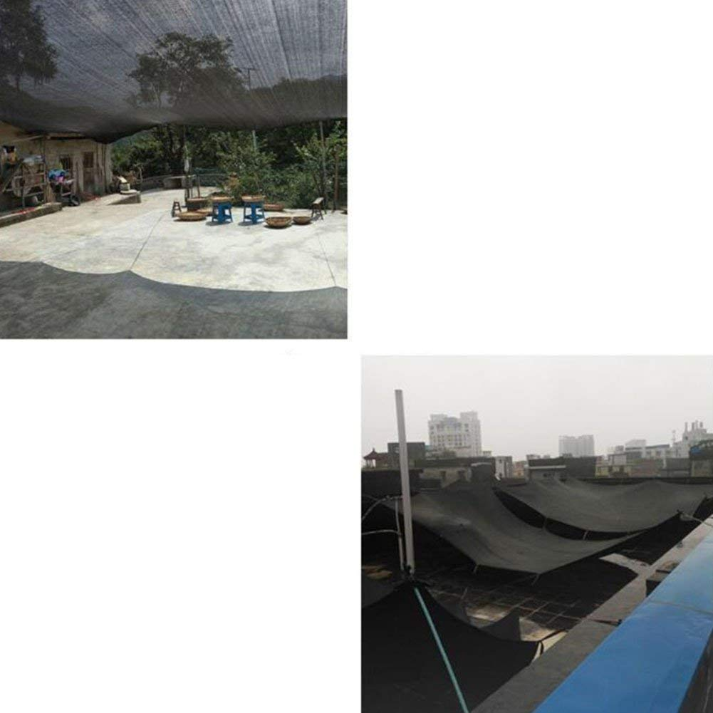 MEIDI MEIDI MEIDI Home Regenfestes Tuch wasserdicht Sonnenschutznetz Auto Sonnencreme Isolationsnetz Verschlüsselung Verdickung Hof Balkon Dach Schattierungsnetz (Farbe   schwarz Blau, Größe   10x12m) B07N2QBS1G Zelte Neuartiges Design 7d322e
