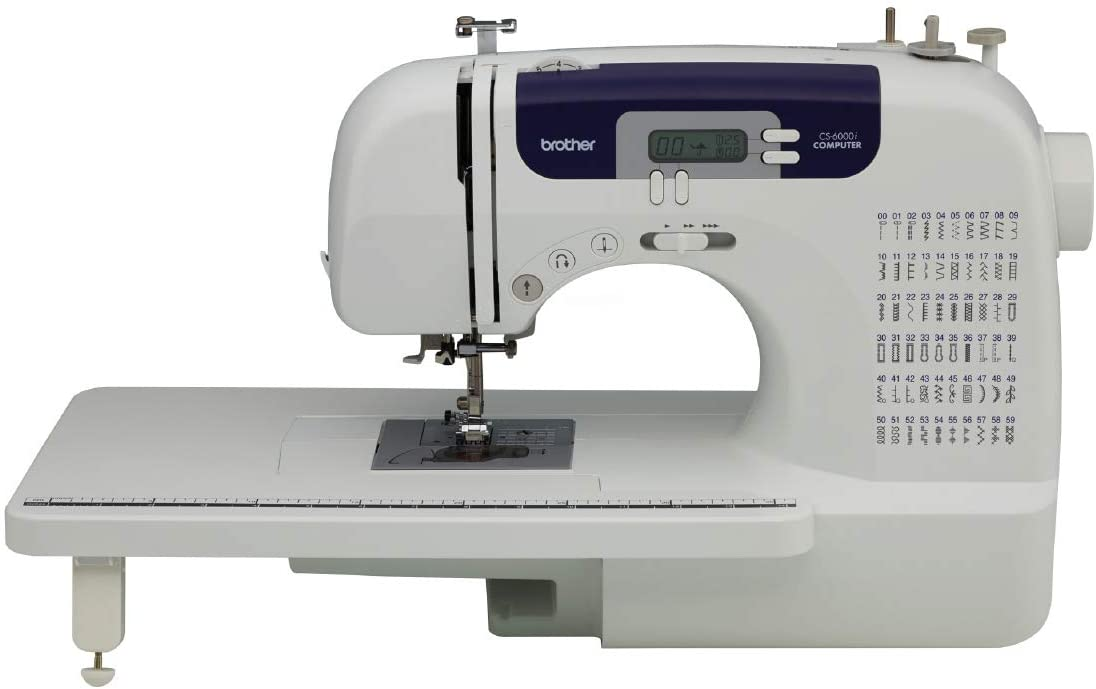 Brother CS6000I 60-Stitch Computerized Free-Arm Sewing Machine Review