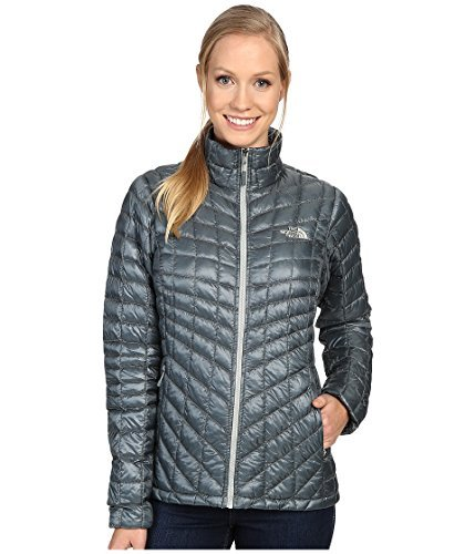 North Face Thermoball Full Zip Jacket Women's Balsam Gree...