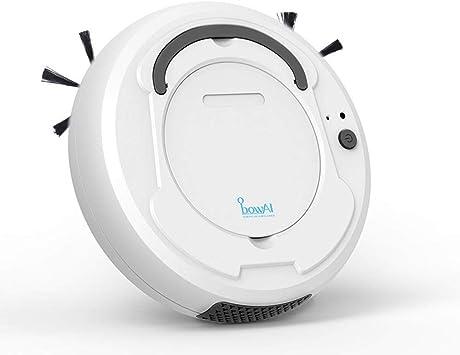 TEEPAO Aspirateur Robot Automatique,Nettoyeur et Laveur 3 en