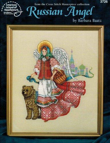 Russian Angel Cross Stitch Pattern #3726 By Barbara Baatz (Cross Stitch Masterpiece Collection)