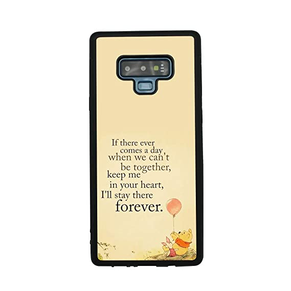 Amazon Com Winnie The Pooh Quote Art Case For Samsung Galaxy Note 9