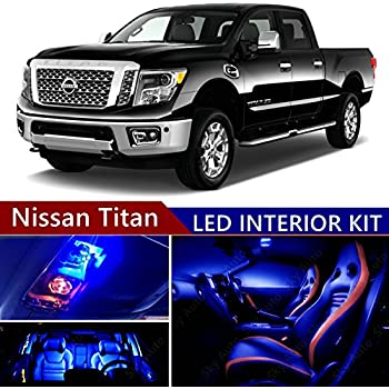 Amazon Com Sky Auto Inc Led Premium Blue Light Interior