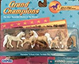 "Grand Champions Micro Mini Horse Collection --- Palomino: ""A Breed of Color, the Golden Show Horse"
