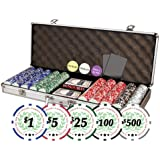 Da Vinci Professional Set of 500 11.5 gram Clay Composite Poker Chips
