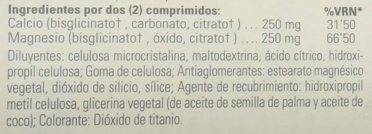 Solgar Calcio/Magnesio Quelado 1:1 Comprimidos - Envase de 120: Amazon.es: Salud y cuidado personal