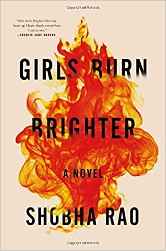 Image result for girls burn brighter book cover