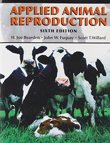 Applied Animal Reproduction (6th Edition) by Pearson