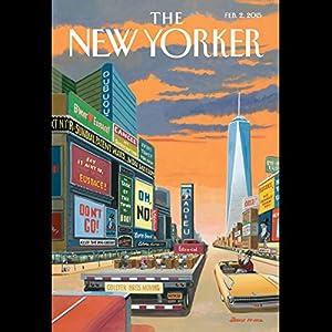 The New Yorker, February 2nd 2015 (Rachel Aviv, Alec Wilkinson, Elizabeth Kolbert) Periodical