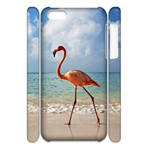 VNCASE Flamingos Phone Case For Iphone 4/4s [Pattern-1]