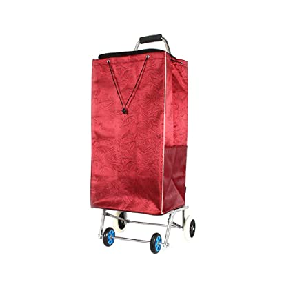 AAFEO-Trolley Carrito de la Compra Carrito Bolsa de la Compra Bolsa de Almacenamiento Carrito