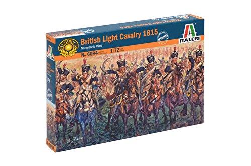 Italeri 6094S Napoleonic Wars-British Light Cavalry 1815 ()