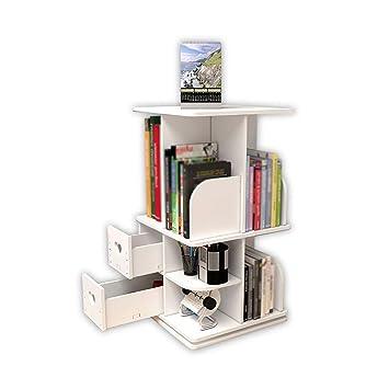 BBG Estantería, estantería de mesa giratoria multifuncional ...