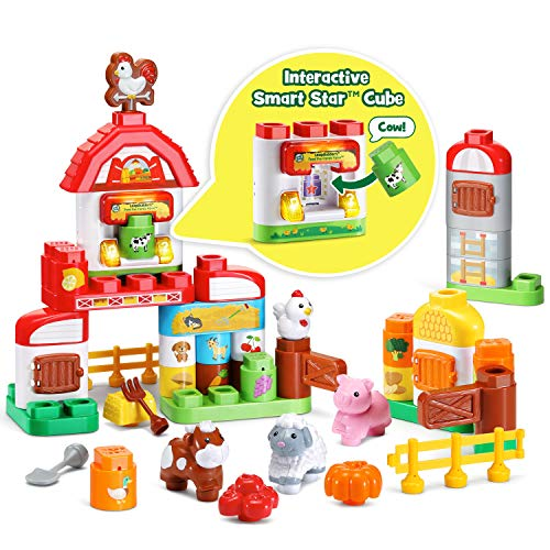 (LeapFrog LeapBuilders Food Fun Family Farm )