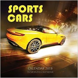 Sports Cars Calendar Month Calendar Paul Jenson - Sports cars calendar 2018