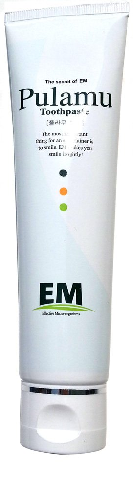 EM(Effective Micro-organisms) Toothpaste / Alcohol, Fragrance, Chemical FREE