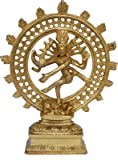 ITOS365 Dancing God Shiva Natraj Statue Idol Murti Home Décor Gift 8.27 Inches