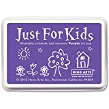 Hero Arts Rubber Stamps CS104 Just for Kids Stamp, Purple