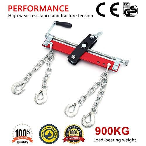 Garage Lift Max Chain Balancer Hoist Engine Load Leveller Load 450 kg Double Chain Adjustable TIMBERTECH Crane Balancer