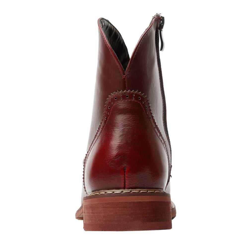 Kuqiwu , Herren Stiefel, Rot - Burgunderrot - Größe Größe Größe  39 EU  1f0f27