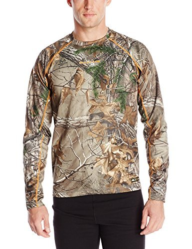 Scent-Lok Men's Baseslayer Lightweight Top, Realtree Xtra, Small