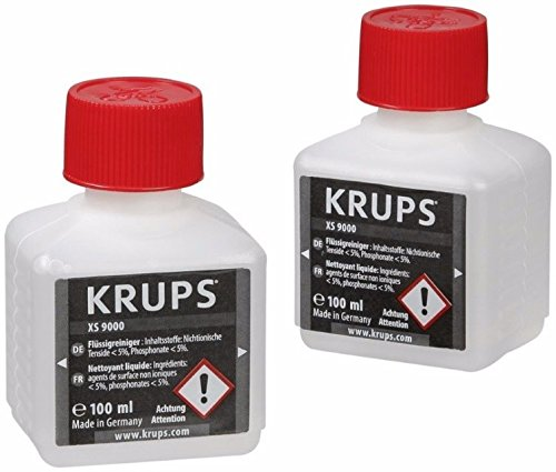 Krups XS900010 Nettoyant Liquide pour Systè me Cappuccino Barista XS 9000