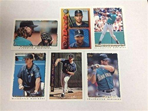 Seattle Mariners Team - 1995 Topps Plus Traded Seattle Mariners Team Set KEN GRIFFEY JR