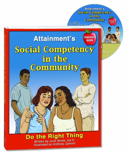 Price comparison product image Attainment's Social Competence in the Community Teachers Guide Do the Right Thing