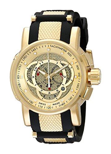 (Invicta Men's 0899 S1 Touring Sport Chronograph Black Rubber Watch )