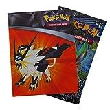 Pokemon Sun Moon Ultra Prism Mini Binder + Card Pack
