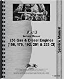 Ford 201 Engine Service Manual