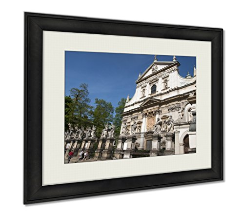 Ashley Framed Prints Krakowpoland, Wall Art Home Decoration, Color, 30x35 (frame size), AG5953669 by Ashley Framed Prints