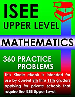 Amazon isee upper level mathematics 360 practice problems isee upper level mathematics 360 practice problems by isee exam preparation experts fandeluxe Image collections