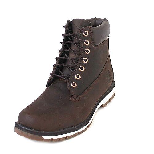 Botas A1uoa Hombre Marrones Zapatos Timberland Cordones Prueba De A xvIFpIT