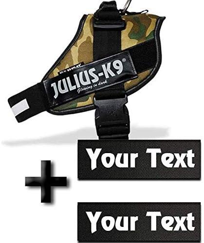 Canicaprice - Arnés Militar Julius K9 Power IDC + 2 Etiquetas ...