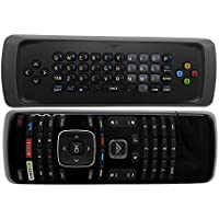New XRT300 Keyboard TV Remote Control fit for Vizio TV M320SR M420SR M470NV M550NV M470VSE M650VSE M550VSE M3D460SR E3D320VX D500I-B1 D650I-B2 E231I-B1 with Amazon Netflix Vudu