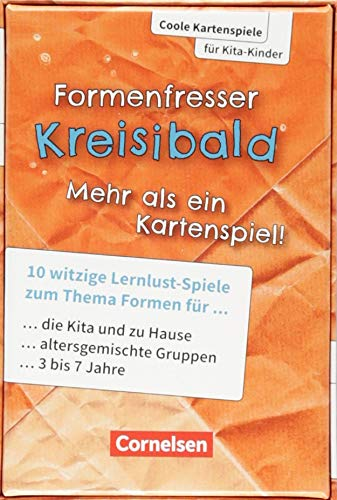 Coole Kartenspiele für Kita-Kinder: Formenfresser Kreisibald: 10 ...