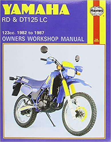 Book Yamaha RD and DT125LC 1982-87 Owner's Workshop Manual (Motorcycle Manuals) by Jeremy Churchill (1988-09-01)