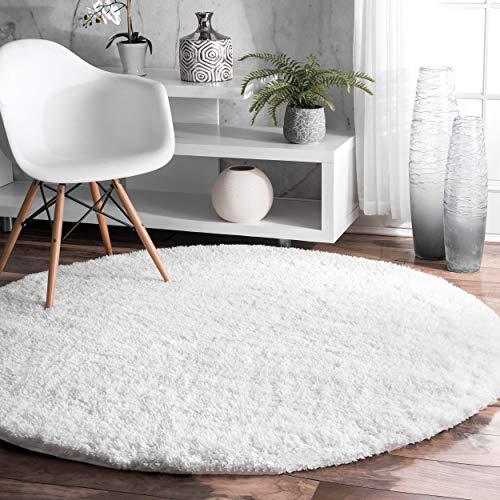 nuLOOM OZAS01A Soft Cloudy Shag Rug, 5' 3