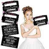Bachelorette Mugshot Signs - (20 Cards / 40 Designs)